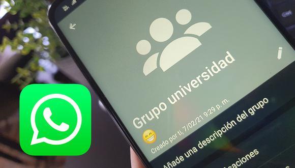 ¿Ya no quieres pertenecer a algún grupo de WhatsApp? Este es el método que debes probar para salir. (Foto: MAG)