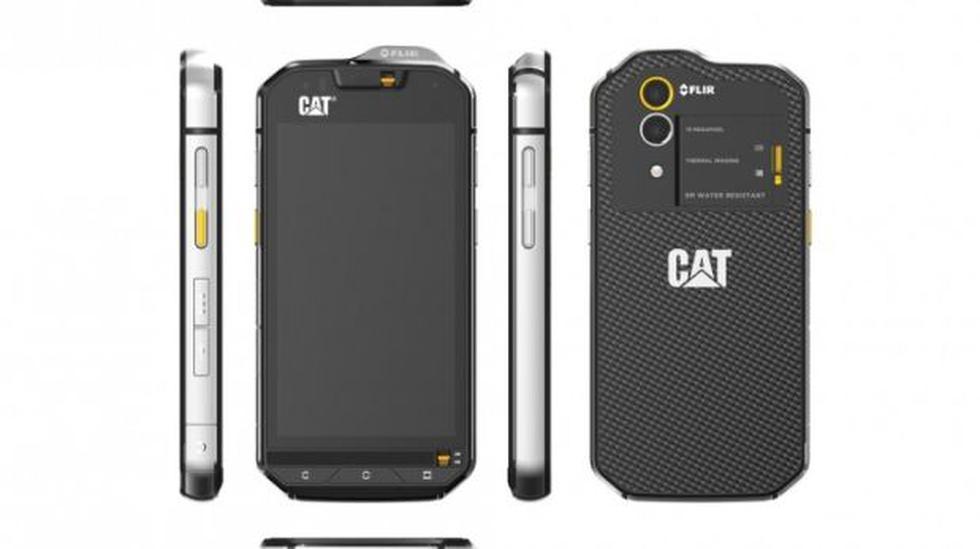 MWC 2016: CAT S60, el primer smartphone con cámara térmica - 2