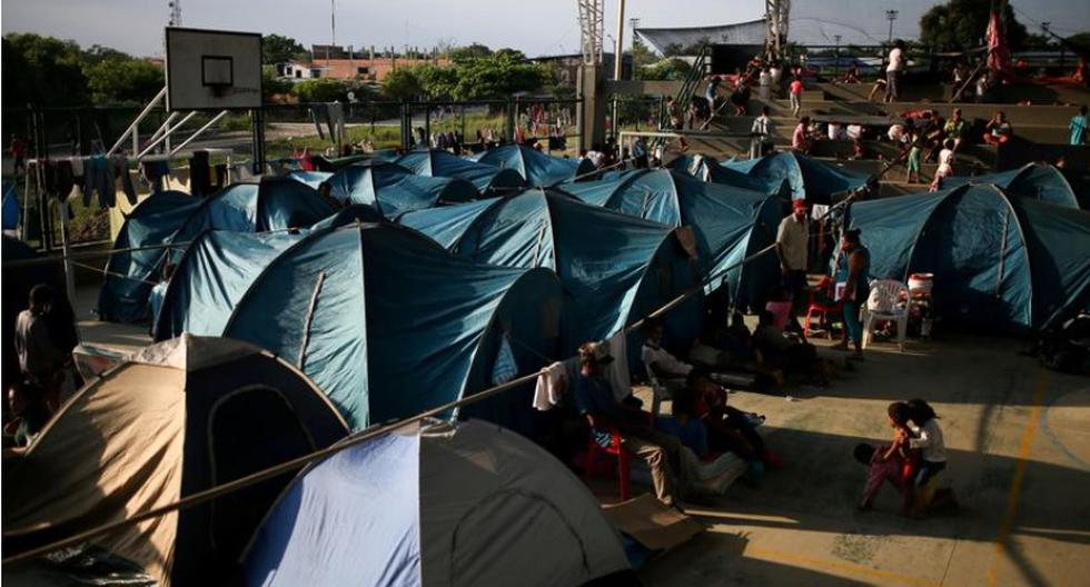 Colombia reports coronavirus cases in shelters for Venezuelan refugees fleeing fighting