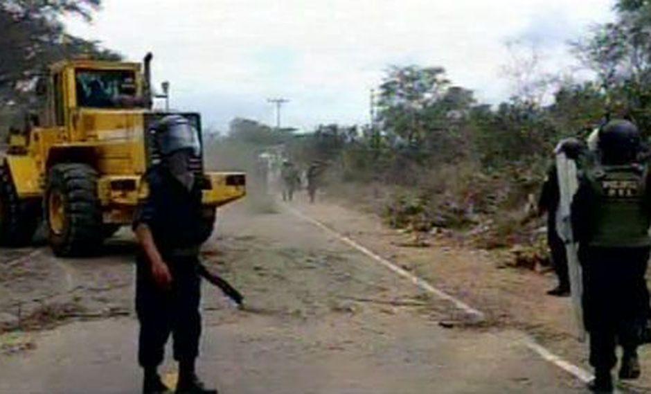 Más de 40 viviendas serán desalojadas. (Foto: Captura/RPP Noticias)