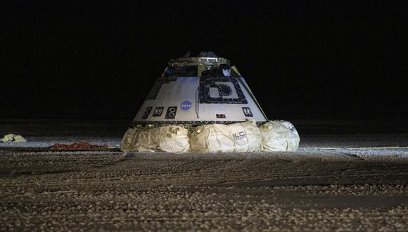 Nave espacial Starliner de la compañía Boeing. (Foto: AFP)