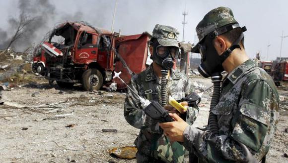Tianjin: Encuentran toneladas de cianuro en zona de explosiones