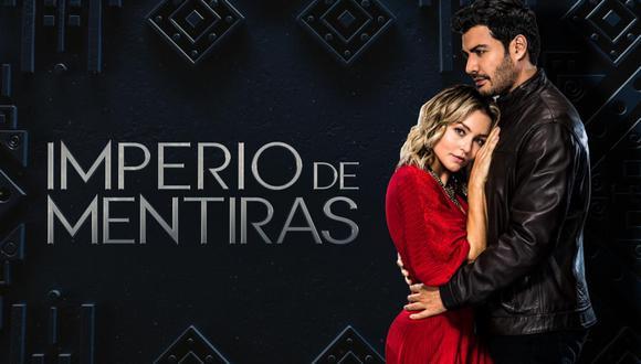 """Angelique Boyer y Andrés Palacios son los protagonistas de la telenovela """"Imperio de mentiras"""" (Foto: Televisa)"""