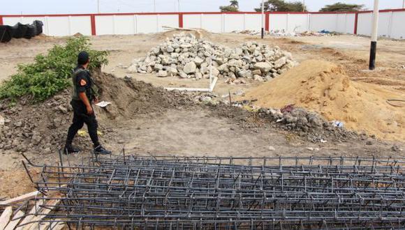 Chiclayo: detienen a 25 sujetos que intentaron invadir local