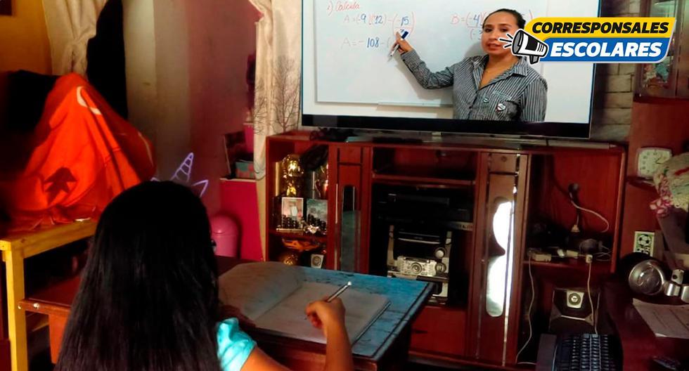 Los alumnos piden más dinámicas en las clases remotas para que sea más entretenido. (Foto: Andina)