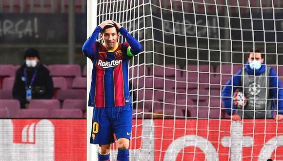 Lionel Messi, en menos de un mes, ya podrá negociar su futuro en un nuevo equipo. (Foto: AFP)