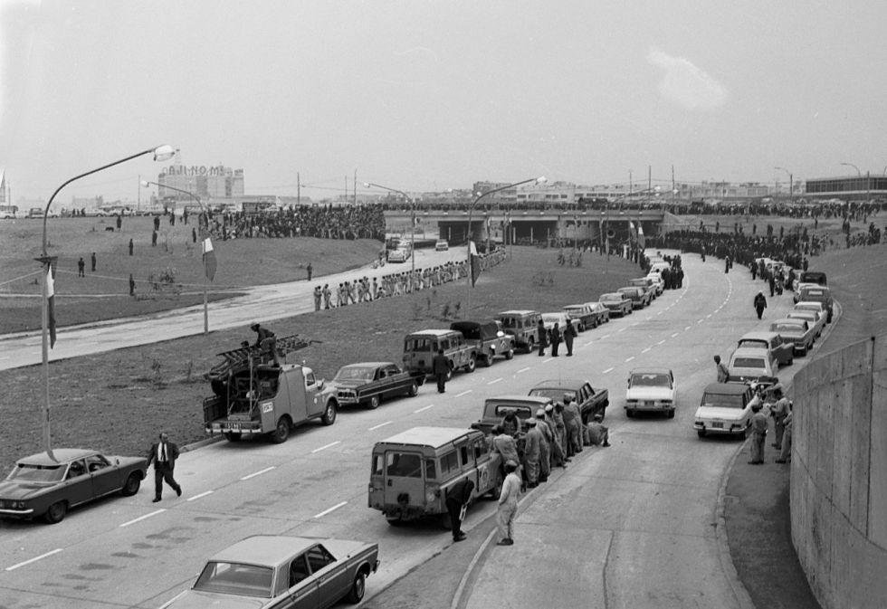 Antes de que se construya la Vía Expresa, la avenida Paseo de la República era la más grande de Lima y del país (Archivo Histórico El Comercio)