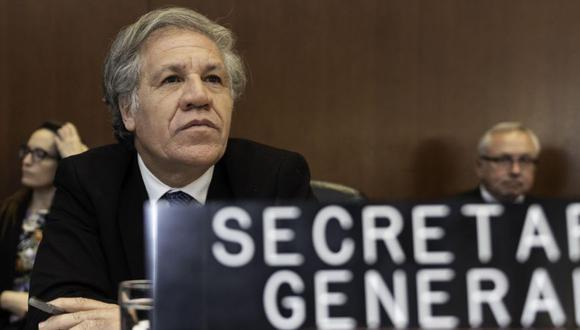 Venezuela: Luis Almagro pide más sanciones económicas y eventual uso de la fuerza. (EFE)