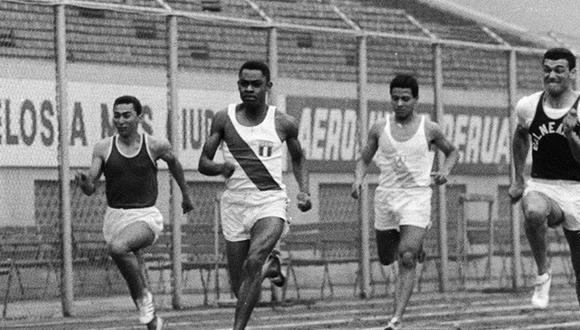 Según los encargados de manejar los cronómetros, en Maracaibo Fernando Acevedo hizo un tiempo menor a 10 segundos en los 100 metros planos. (Foto: GEC Archivo Histórico)