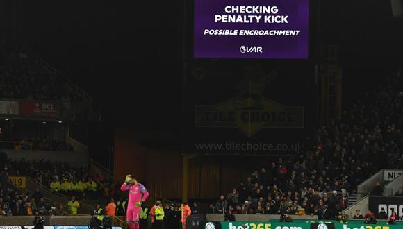 El VAR ha sido protagonista en la fecha 19 de la Premier League. (Foto: AFP)