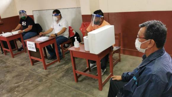 La ONPE ha habilitado plataforma para conocer su local de votación y si fuiste sorteado como miembro de mesa. (Foto: Andina)