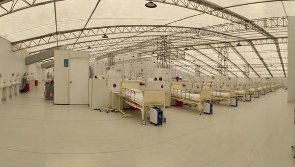 Las camas servirán para los pacientes con síntomas leves y moderados (Foto: EsSalud)