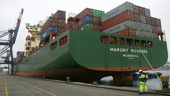 Perú registró déficit comercial de US$746 mlls. en mayo