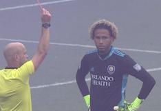 Pedro Gallese fue expulsado en plena tanda de penales entre Orlando City y New York City FC por los playoffs de la MLS