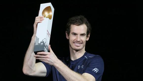 Murray ganó en Viena y está más cerca que nunca de Djokovic