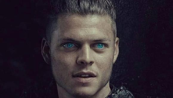 """El actor danés Alex Høgh Andersen interpretó a Ivar el Deshuesado en """"Vikings"""" (Foto: History)"""