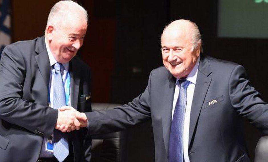 Joseph Blatter lamentó la muerte de su amigo Julio Grondona