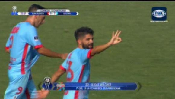 Juan Aurich: mira el golazo que le marcaron en la Sudamericana