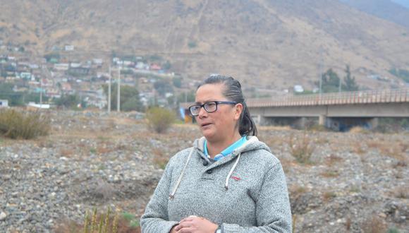 Verónica Vilches. Foto: Amnistía Internacional