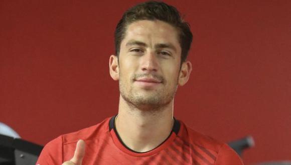 Santiago Ormeño fue convocado por primera vez por Gareca para la Copa América 2021. (Foto: FPF)