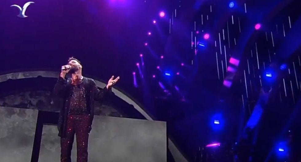 Ricky Martin en Viña del Mar 2020.