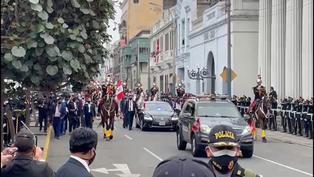Pedro Castillo abandona el parlamento como nuevo presidente del Perú