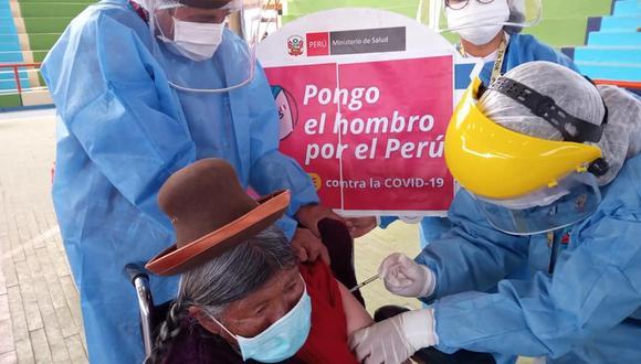 El Gobierno desarrolla un plan de vacunación contra el COVID-19 con énfasis en la territorialidad. (Foto: Goremad / Referencial)