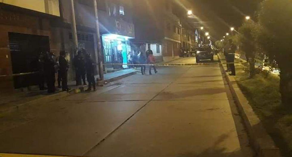 Norma Romero fue atacada por dos delincuentes en el barrio Villón Alto. Durante la tarde de ayer había retirado S/40 mil de un banco. (Foto: cortesía Noticiario Hoy).