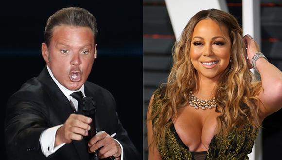 Luis Miguel mantuvo un romance con Mariah Carey. (Fotos:  Agencias)