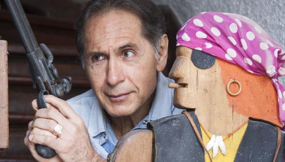 """El escritor Jorge Eslava presentó su nuevo libro """"Valle Esperanza"""". (Foto: El Comercio)"""