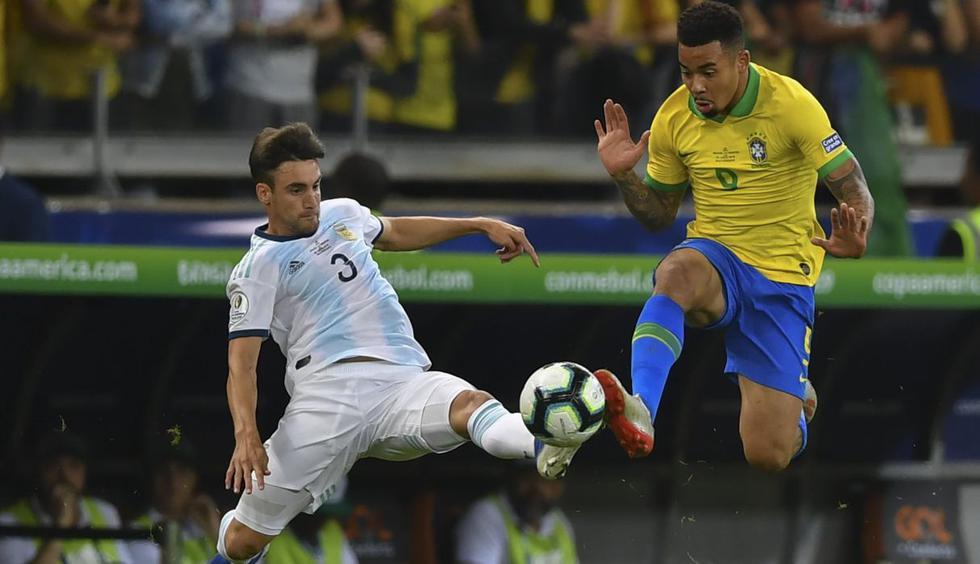 Argentina vs. Brasil: las mejores imágenes del partido de semifinal. (Foto: AFP)