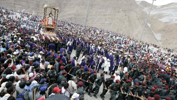 Virgen de Chapi recibirá a 200.000 visitantes desde hoy