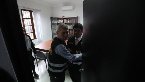 """La fiscalía reconoció que la diligencia fue suspendida """"por la falta de un documento que no pudo ser presentado al inicio de la misma"""". (Foto: Rolly Reyna / El Comercio)"""