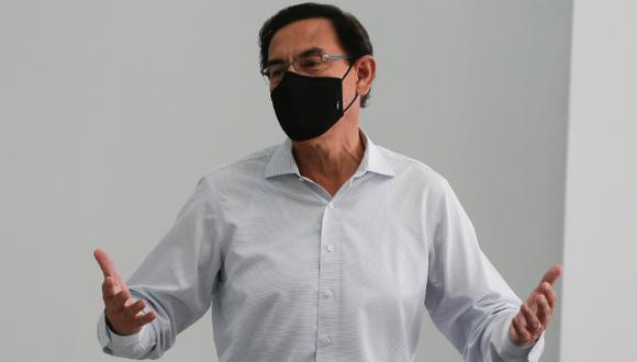 Martín Vizcarra acusó al informe de Jim Alí Mamani de tener mentiras para inhabilitarlo del proceso electoral. (Foto:  archivo GEC)