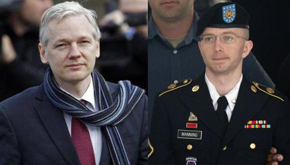 Assange agradeció a quienes hicieron campaña a favor de Manning