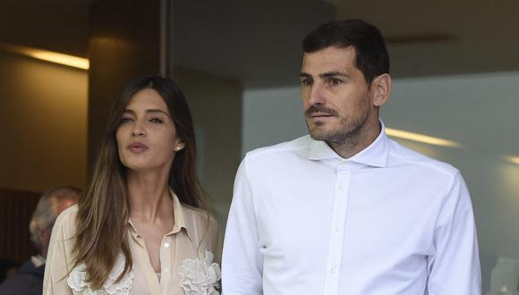 Iker Casillas y Sara Carbonero anuncian su separación. (Foto: AFP/MIGUEL RIOPA)