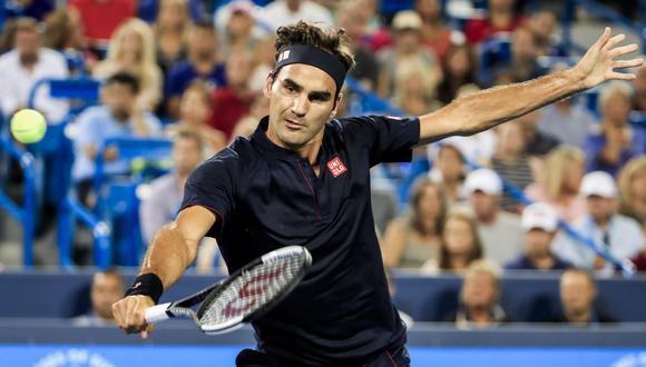 Federer venció a Wawrinka y avanzó a las semifinales del Masters 1000 de Cincinnati. (Foto: AFP)