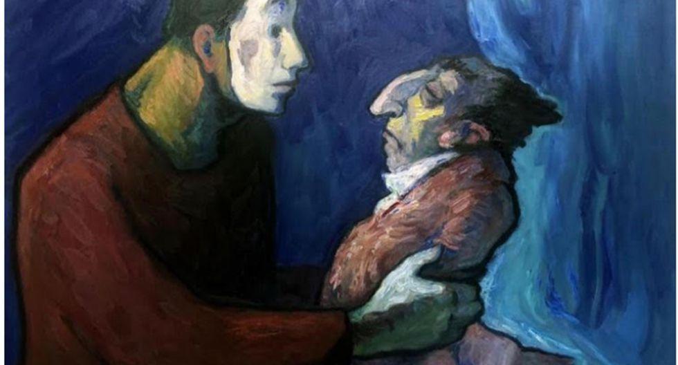 El pintor peruano Alfredo Alcalde denunció el robo de 15 obras de su autoría en su taller de México. (Foto: Difusión)
