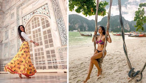 Su travesía empezó en Asia, donde ha visitado los principales atractivos de la India, Singapur y Tailandia.(Foto: Facebook / Me Apasiona Viajar)