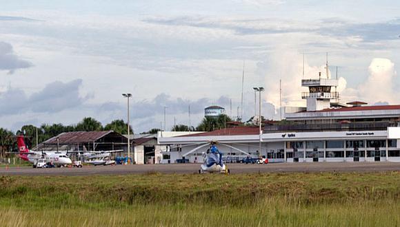 El aeropuerto Francisco Secada Vigneta de Loreto es operado actualmente por Aeropuertos del Perú. (Foto: El Comercio)