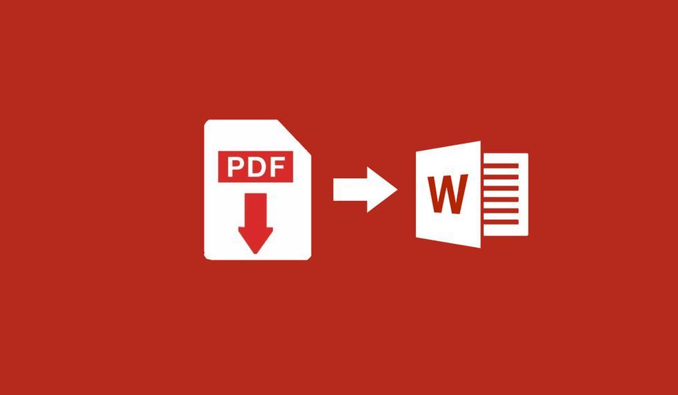 ¿Quieres convertir un documentos de PDF a Word? Entonces sigue estos pasos. (Foto: Captura)