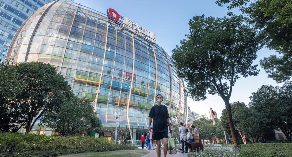 Empresa china corre el riesgo de quedar en quiebra. Es la inmobiliaria más endeudada del mundo. (Foto: EFE)