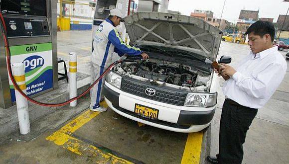 El GLP es el 11% de la demanda de combustible automotriz y el GNV llega apenas al 10%.  (Foto: Difusión)