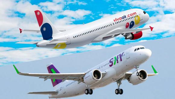 La oferta de pasajes aéreos de Viva Air Perú y Sky Airlines permite viajar a destinos como Arequipa, Cusco, Tarapoto, Piura, entre otros.