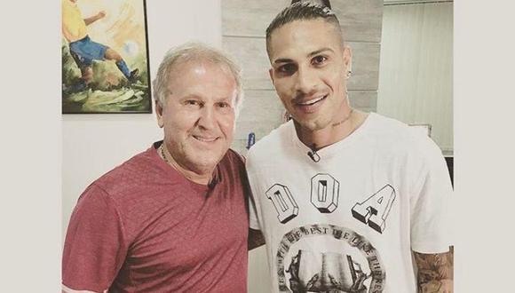 Zico alabó el juego de Guerrero en el fútbol brasileño. (Foto: Facebook)