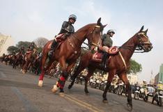 Policía Nacional realizará patrullaje a caballo en zonas rurales y alejadas de Lima