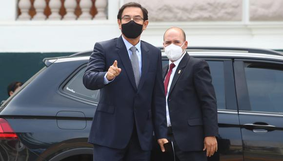 Vizcarra Cornejo señaló que este Congreso ha recibido el rechazo de la población y la crítica internacional, luego de haber aprobado su destitución.  (Foto: Alessandro Currarino | GEC)