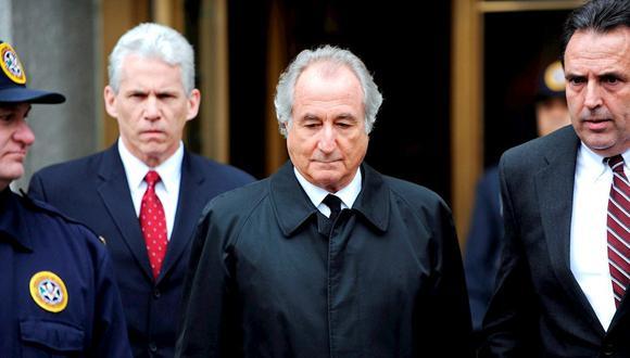 Bernie Madoff estaba condenado a 150 años en prisión. (Foto de archivo:  EFE/EPA/PETER FOLEY)