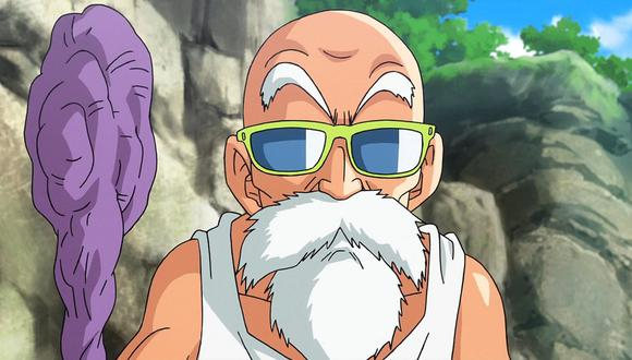 """Maestro Roshi de """"Dragon Ball Super"""". (Foto: Difusión)"""