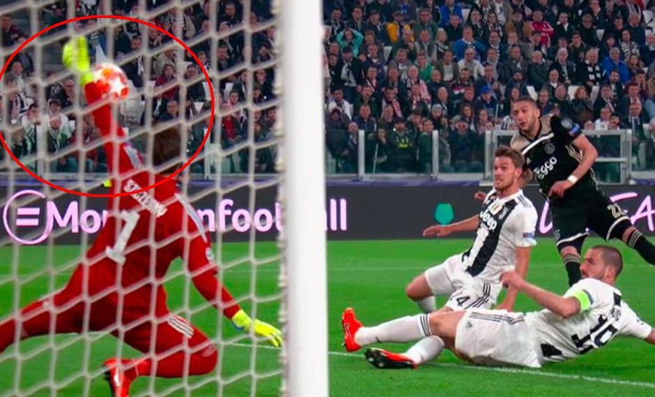 Juventus vs. Ajax EN VIVO: la espectacular atajada de Szczesny ante el potente remate de Ziyech | VIDEO. (Foto: Captura de pantalla)